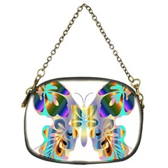 Abstract Animal Art Butterfly Chain Purses (two Sides)