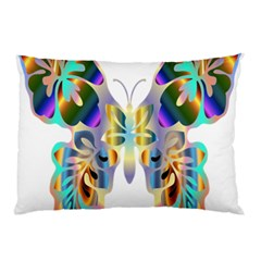 Abstract Animal Art Butterfly Pillow Case