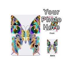 Abstract Animal Art Butterfly Playing Cards 54 (mini)