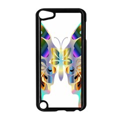Abstract Animal Art Butterfly Apple Ipod Touch 5 Case (black)