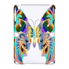 Abstract Animal Art Butterfly Apple Ipad Mini Hardshell Case (compatible With Smart Cover)