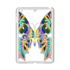 Abstract Animal Art Butterfly Ipad Mini 2 Enamel Coated Cases