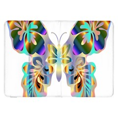Abstract Animal Art Butterfly Samsung Galaxy Tab 8 9  P7300 Flip Case