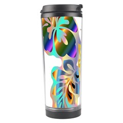 Abstract Animal Art Butterfly Travel Tumbler