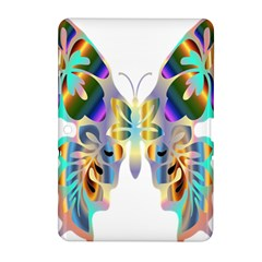 Abstract Animal Art Butterfly Samsung Galaxy Tab 2 (10 1 ) P5100 Hardshell Case