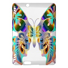 Abstract Animal Art Butterfly Kindle Fire Hdx Hardshell Case