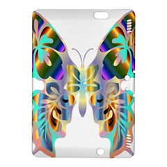 Abstract Animal Art Butterfly Kindle Fire Hdx 8 9  Hardshell Case