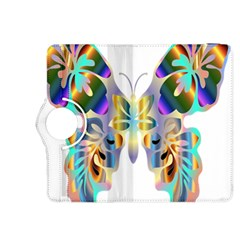 Abstract Animal Art Butterfly Kindle Fire Hdx 8 9  Flip 360 Case