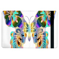 Abstract Animal Art Butterfly Ipad Air Flip