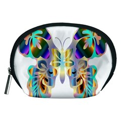 Abstract Animal Art Butterfly Accessory Pouches (medium)
