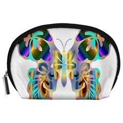 Abstract Animal Art Butterfly Accessory Pouches (large)