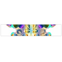 Abstract Animal Art Butterfly Flano Scarf (large)