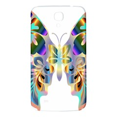 Abstract Animal Art Butterfly Samsung Galaxy Mega I9200 Hardshell Back Case