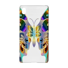 Abstract Animal Art Butterfly Sony Xperia Z3+