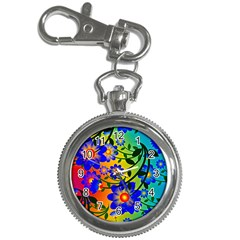 Abstract Background Backdrop Design Key Chain Watches