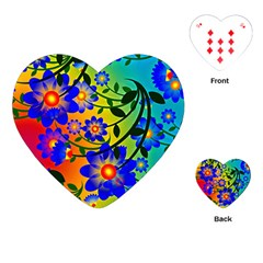 Abstract Background Backdrop Design Playing Cards (heart)