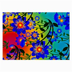 Abstract Background Backdrop Design Large Glasses Cloth