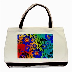 Abstract Background Backdrop Design Basic Tote Bag (two Sides)