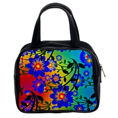 Abstract Background Backdrop Design Classic Handbags (2 Sides)