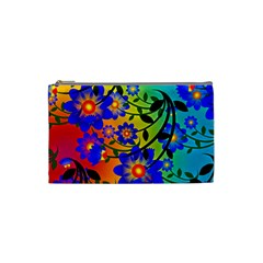 Abstract Background Backdrop Design Cosmetic Bag (small)
