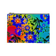 Abstract Background Backdrop Design Cosmetic Bag (large)