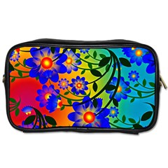Abstract Background Backdrop Design Toiletries Bags 2 Side