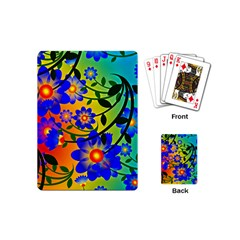 Abstract Background Backdrop Design Playing Cards (mini)