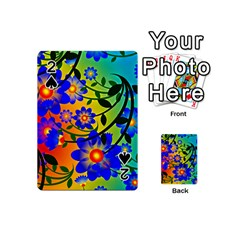 Abstract Background Backdrop Design Playing Cards 54 (mini)