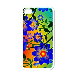 Abstract Background Backdrop Design Apple Iphone 4 Case (white)