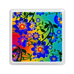 Abstract Background Backdrop Design Memory Card Reader (square)