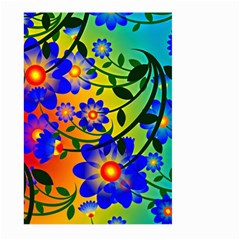 Abstract Background Backdrop Design Large Garden Flag (two Sides)