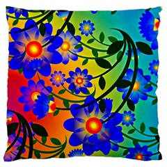 Abstract Background Backdrop Design Large Cushion Case (two Sides)