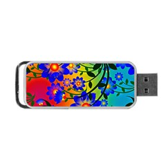 Abstract Background Backdrop Design Portable Usb Flash (two Sides)