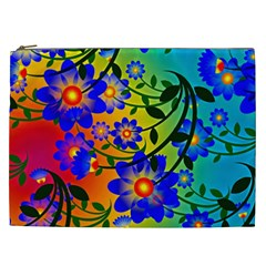 Abstract Background Backdrop Design Cosmetic Bag (xxl)