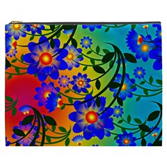Abstract Background Backdrop Design Cosmetic Bag (xxxl)