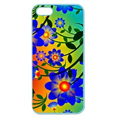 Abstract Background Backdrop Design Apple Seamless Iphone 5 Case (color)