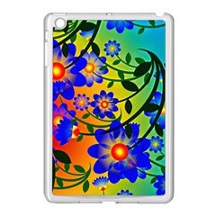 Abstract Background Backdrop Design Apple Ipad Mini Case (white)
