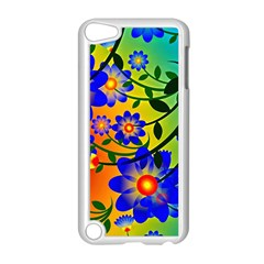 Abstract Background Backdrop Design Apple Ipod Touch 5 Case (white)