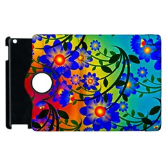 Abstract Background Backdrop Design Apple Ipad 3/4 Flip 360 Case