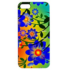 Abstract Background Backdrop Design Apple Iphone 5 Hardshell Case With Stand