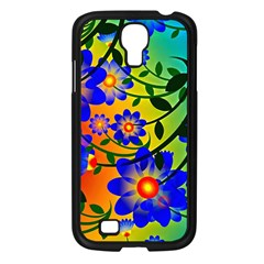 Abstract Background Backdrop Design Samsung Galaxy S4 I9500/ I9505 Case (black)