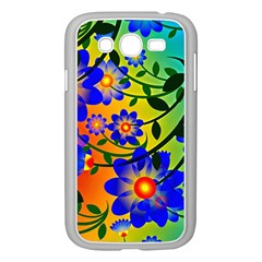 Abstract Background Backdrop Design Samsung Galaxy Grand Duos I9082 Case (white)