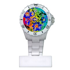 Abstract Background Backdrop Design Plastic Nurses Watch