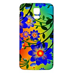Abstract Background Backdrop Design Samsung Galaxy S5 Back Case (white)