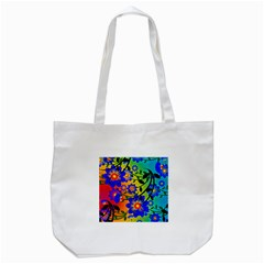 Abstract Background Backdrop Design Tote Bag (white)