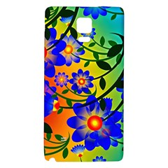 Abstract Background Backdrop Design Galaxy Note 4 Back Case