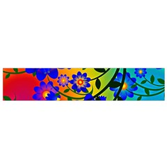 Abstract Background Backdrop Design Flano Scarf (small)