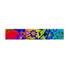 Abstract Background Backdrop Design Flano Scarf (Mini)