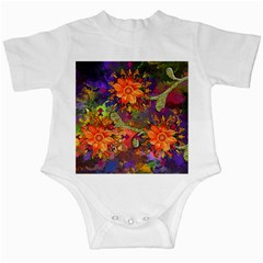 Abstract Flowers Floral Decorative Infant Creepers