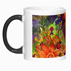 Abstract Flowers Floral Decorative Morph Mugs